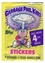 Garbage Pail Kids: 4th Series Trading Stickers Wax Pack (5 stickers)