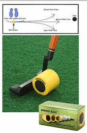 Gimmie Ball Putting Aid | Gimmieball Putting Stroke Trainer