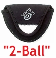 Free Shipping! 2-Ball Style Putter Headcover | CoverUpz Two Ball Putter Cover