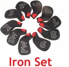 Bonus! 10 Piece CoverUpz Iron Cover Set (No Retail Packaging)