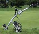 Bat Caddy Motorized Golf Cart  | BatCaddy X2Pro Electric Golf Trolley