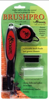 Free Shipping! Frogger Brush Pro Deluxe Golf Club Cleaner | Brush Pro Golf Club Brush