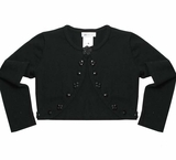 Bonnie Jean Collection: Black Cardigan