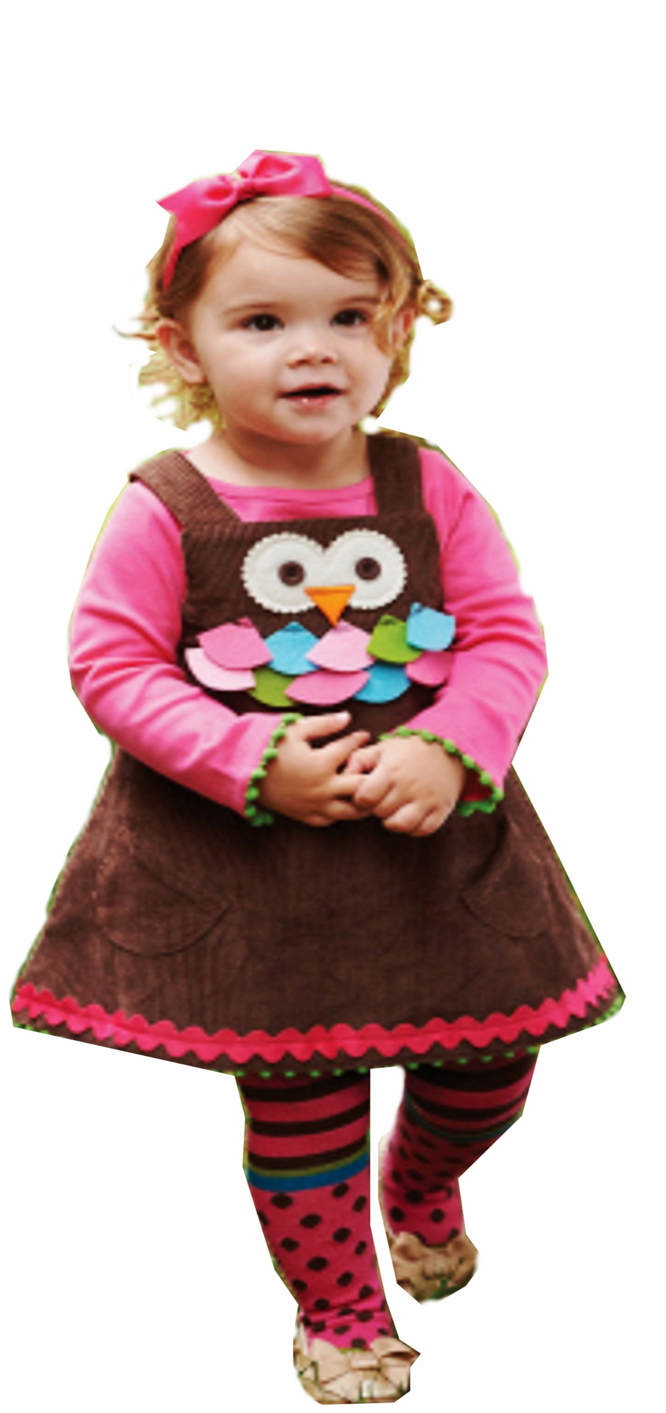 Mud Pie Baby Girls Exclusive 3-Piece Owl Jumper Dress with Tights and Turtleneck  2T with tneck at Sears.com