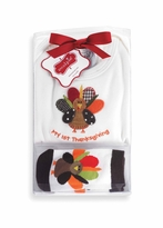 Mud Pie Newborn 1st Set: Mud Pie My 1st Thanksgiving Crawler