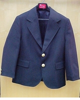 Boys Blazer / Navy Hopsack  -   SOLD OUT