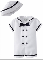 Boys Sailor Suit White : Rare Editions