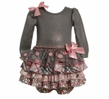Grey Sparkle Tiered Dress sold out