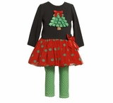 Christmas Tree and Polka Dot Tutu Set  SOLD OUT