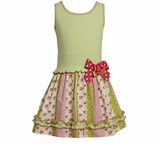 Bonnie Jean Girls Vintage Pink Drop Waist Dress sold out