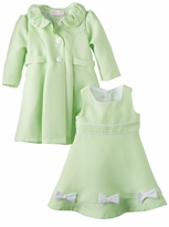Baby or Girls Easter Dress and Coat Set  Mint Green - sold out