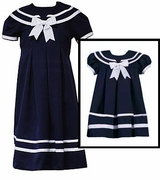 Sailor Dresses for Girls - Navy Sailor Dress  Infant or Girls Size
