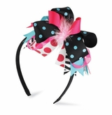 Wild Child Zebra Big Girl Headband