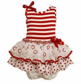 Bonnie Jean Sleeveless Heart Tutu Dress