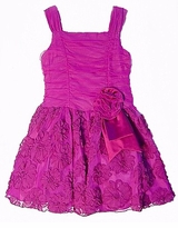 Bonnie Jean Magenta Embroidered Flower Dress SZ 6  CLEARANCE   FINAL SALE