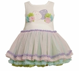 Baby Dress - Multi Color Egg Dress  HURRY 18mo last one