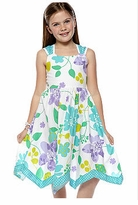 Girls Sundresses - Tulip Hem Floral Dress  Girls Size 7 - 12