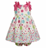 Bonnie Jean Infant Girls Polka Dot Sundress and Bloomers - sold out