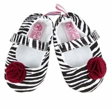 Zebra Soft Soled Shoes
