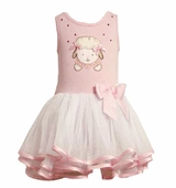 Bonnie Jean- Lamb Tutu Dress - OUT OF STOCK