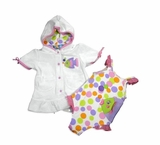 Infant Swimsuit and Robe - Pastel Bubble Fish 18 month-Sold out
