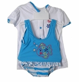BLUE FISH TANKINI Infant Girls Swimsuit and Robe SOLD OUT