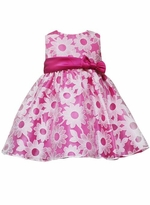 Infant Daisy Dress - Fuchsia Daisy Dress - sold out