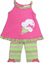 Infant Girls Ice Cream Capri Pant Set  - SOLD OUT