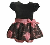 Black Dress for Baby Lace Dress