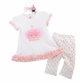 Cupcake Tunic and Legging Set  SOLD OUT