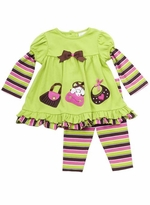 Toddler Purse Tunic Dress and Legging Set -  SOLD OUT  76