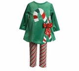 Green Candy Cane Dress and Leggings sold out