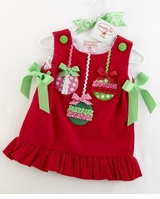 Christmas Ornament Dress  - sold out