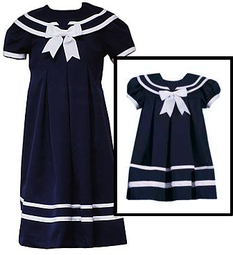 Rare Editions Sailor Dresses for Girls - Navy Sailor Dress  Infant or Girls Size 3-months at Sears.com