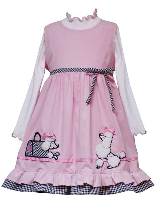Rare Editions Paris Poodle Dress    24 months at Sears.com