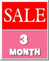 GIRLS 3 MONTH - BARGAINS