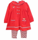 Le Top Infant Christmas Treat Pant Set 24 month  FINAL SALE
