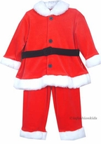 Le Top Toddler  Santa Suit - 2 Pc  Velour  sold out