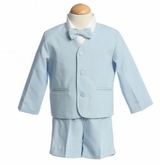 Boys Eton Suit - Light Blue