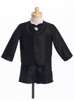 Black Formal Eton Suit -Size 6-9 month
