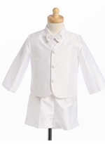 White Eton Suit - Boys Formalwear