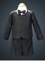 Black Formal Eton Suit - Infant / Toddler