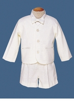 Boys Eton Suit - Ivory SOLD OUT