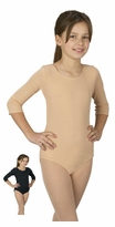Child Leotard - Choose Black or Beige - FINAL SALE