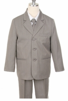 BOYS SUITS - Light Grey Suit
