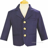 Boys Navy Blazer Jacket   sold out