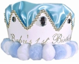 Boys Party Hat - First Birthday Boy Crown