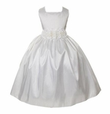 Girls White Communion Dress or Flower Girl Dress