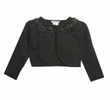 Girls Black Cardigan - Dressy Cardigan - sold out