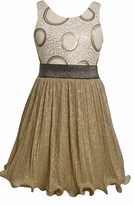 Silver/ Gold Wire Hem Dress sold out